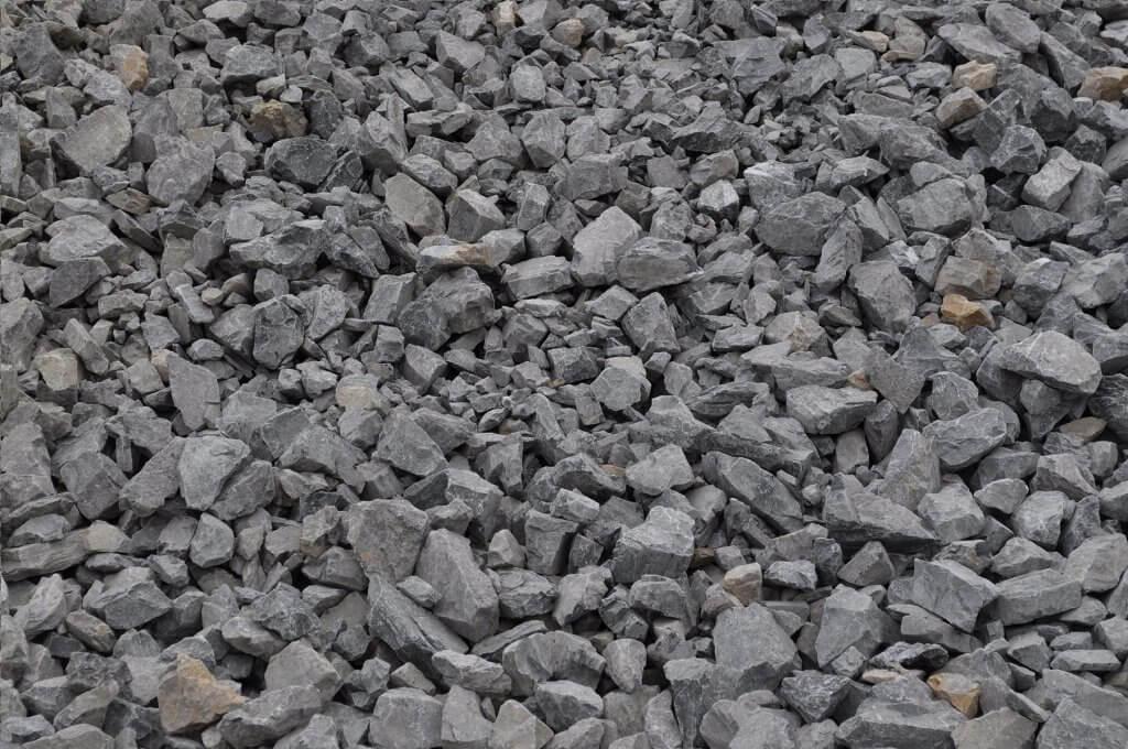AASHTO #1 aggregate stone type