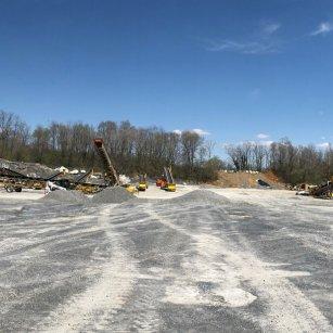 union quarries' crushing plant