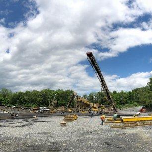 union quarries crushing plant