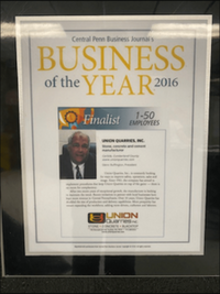 central penn business journal's 2016 business of the year