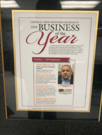 central penn business journal's 2018 business of the year