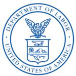 u.s. department of labor certificate of appreciation logo